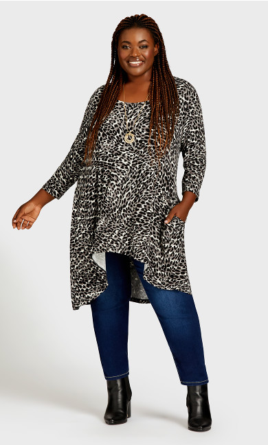 Kissing Gate Tunic - animal