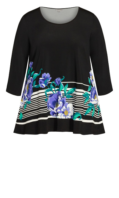 Orchid Tunic - turquoise