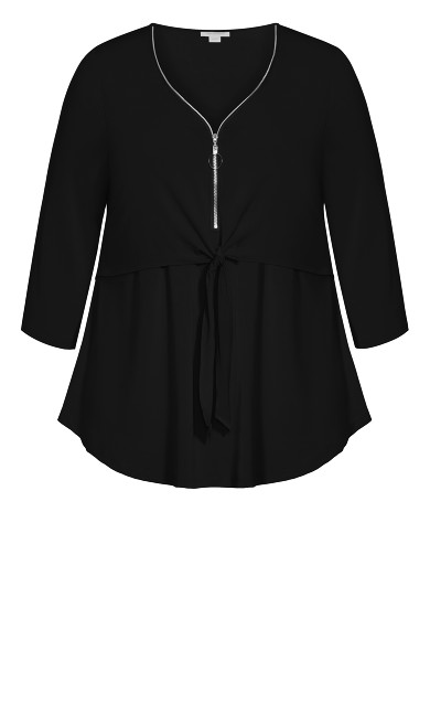 Lia Top - black