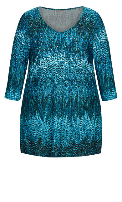 Waverly Tunic - turquoise