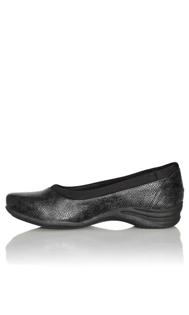 Lily Comfort Slip On - black