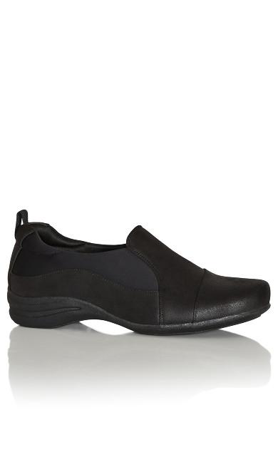 Paz Comfort Flat - black