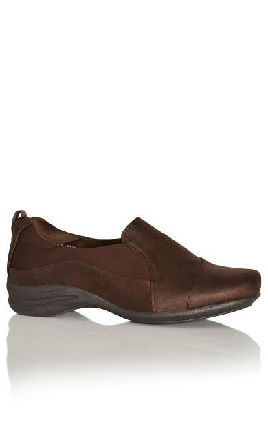 Paz Comfort Flat - brown