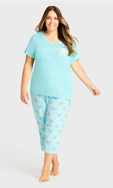 Plus Size Spring Placement Sleep Top