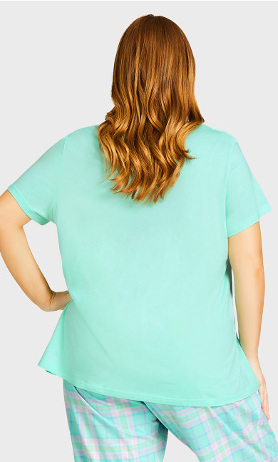 Chick Sleep Top - mint