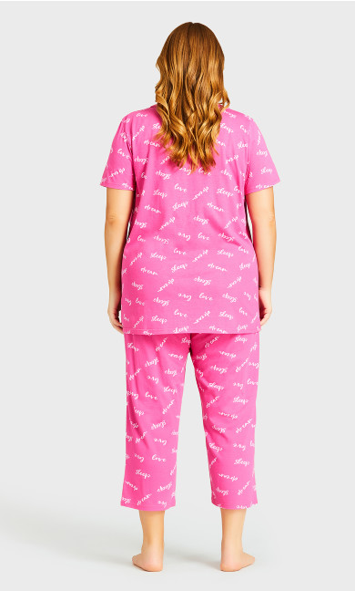 Print Sleep Pant - pink sleep