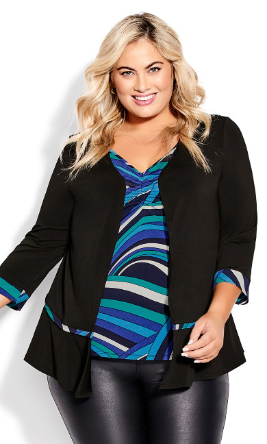 Candice Duet Top - blue