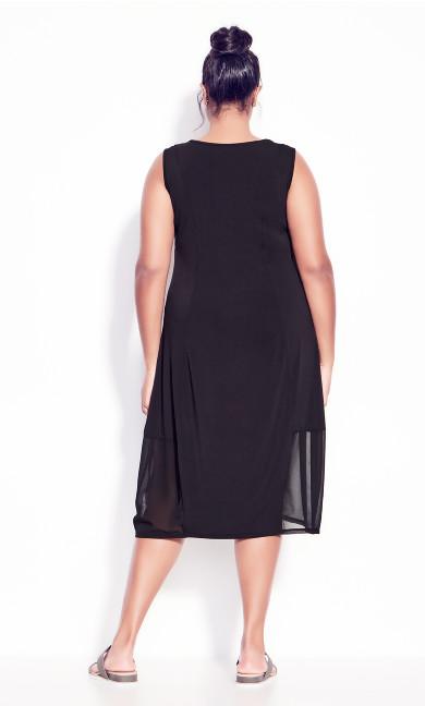 Zelda Knit Dress - black