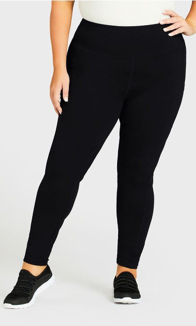 Legging Pocket Active Black - average