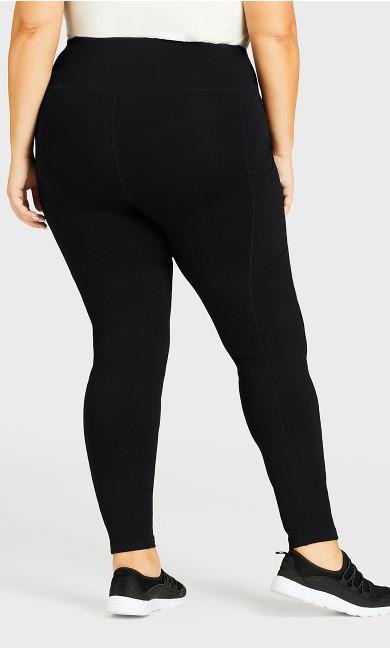 Legging Pocket Active Black - average