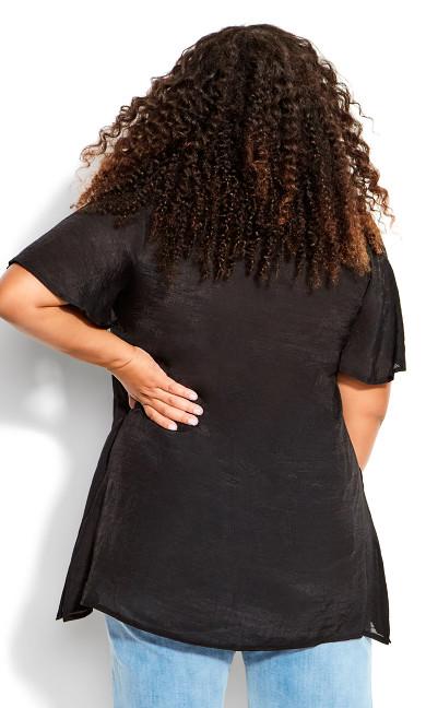 Mylah Layered Tunic - black
