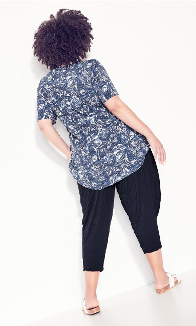 Janelle Crush Pant - navy