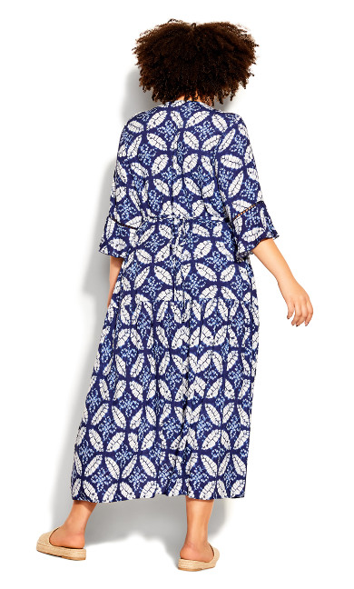 Valencia Dress - sapphire
