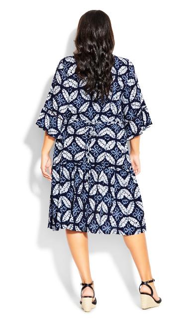 Valencia Mini Dress - sapphire