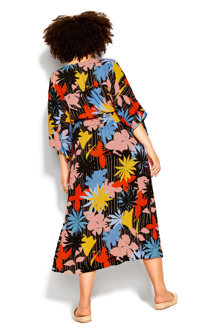 Day Date Print Maxi Dress - multi floral