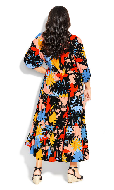 To The Max Dress - multi floral