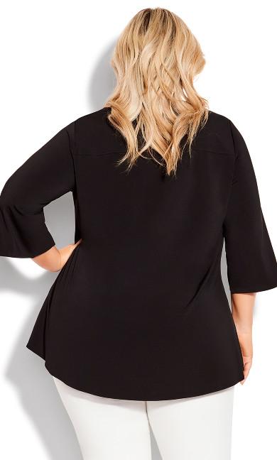 Luella Plain Top - black
