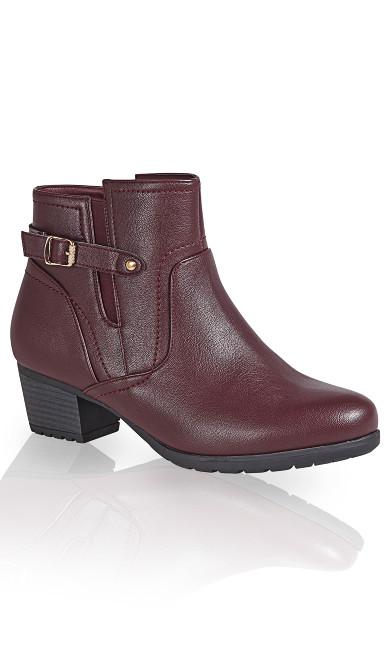 Lynn Side Buckle Ankle Boot