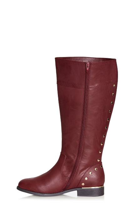 Jenny Tall Boot - wine