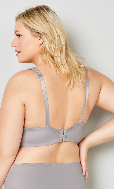 Dream Curves Bra - dove gray