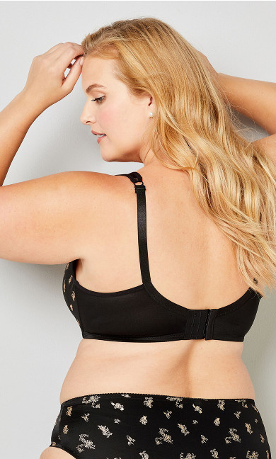 Balconette Underwire Bra - black