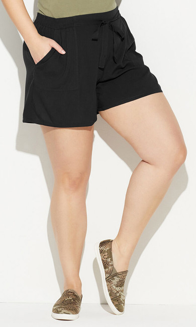 Challis Short - black