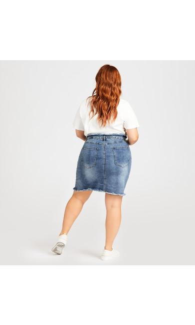 Denim Skirt - mid wash