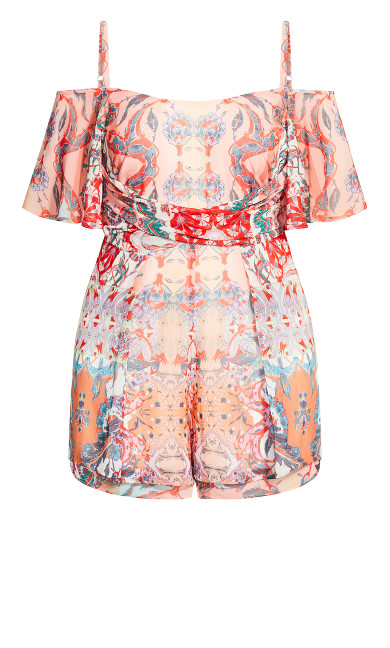 Adisa Playsuit - punch