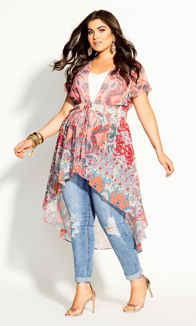 Plus Size Adisa Jacket - punch