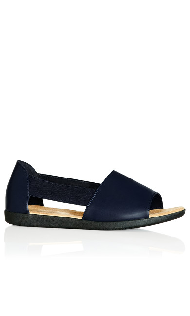 Plus Size Peyton Sandal - dark navy