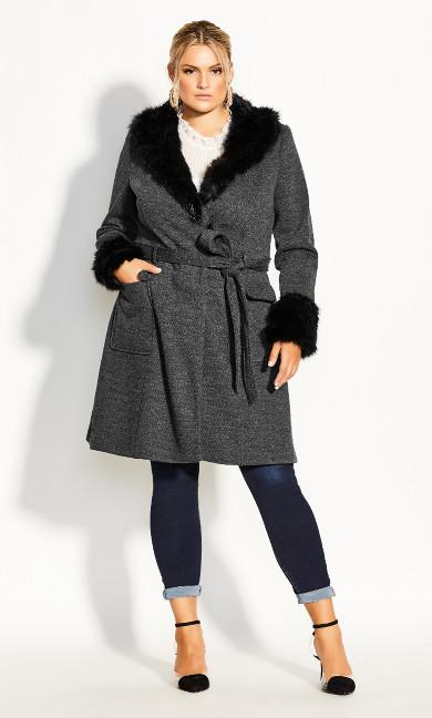 Women's Plus Size Make Me Blush Coat