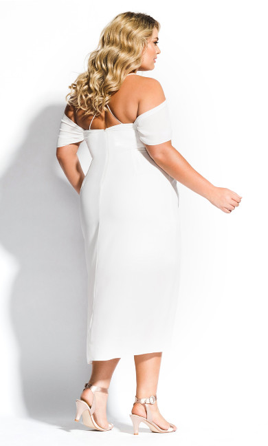 Entwine Maxi Dress - ivory