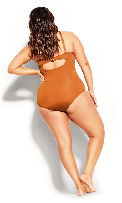 Cancun Underwire 1 Piece - amber