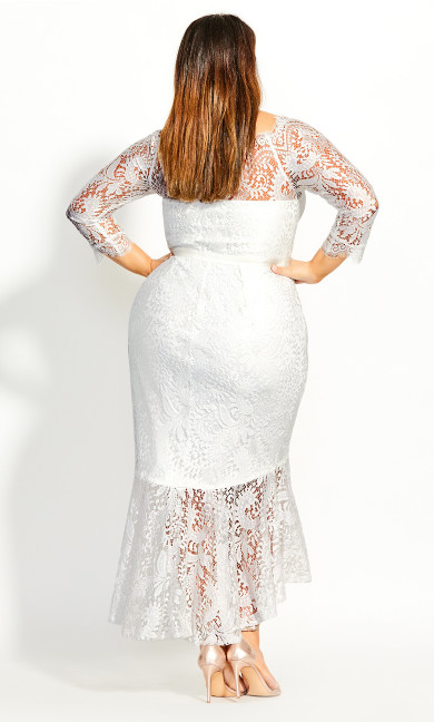 Estella Maxi Dress - ivory