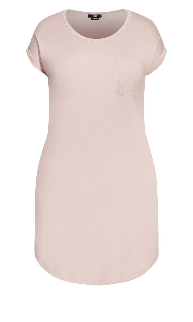 Lazy Days Dress - dusty rose