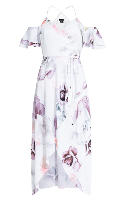 Sweet Bella Maxi Dress - ivory