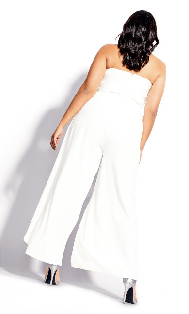 Attraction Jumpsuit - ivory