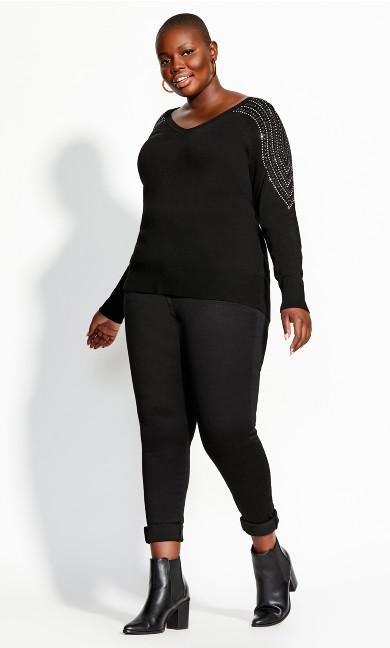Women's Plus Size JUMPER SHLDER DREAM
