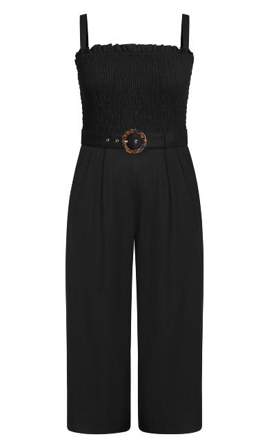 Wild Smock Jumpsuit - black