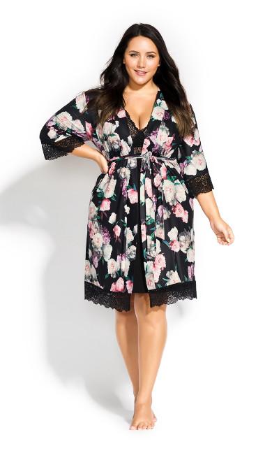 Women's Plus Size Hayley Wrap - black