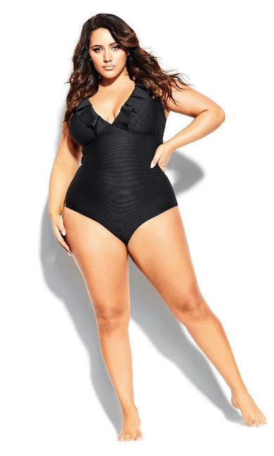 Women's Plus Size Cavallo 1 Piece - black