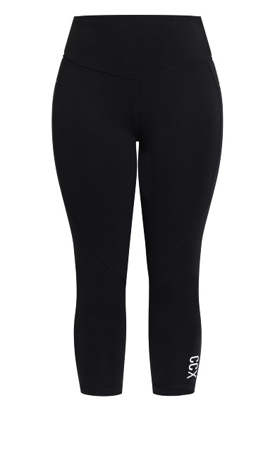 Active 7/8 Legging - black