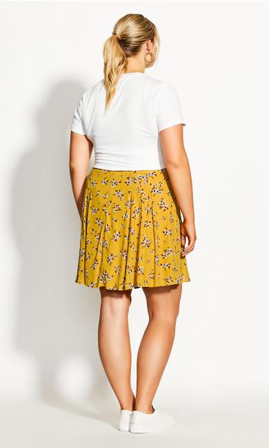 Precious Ditsy Skirt - amber