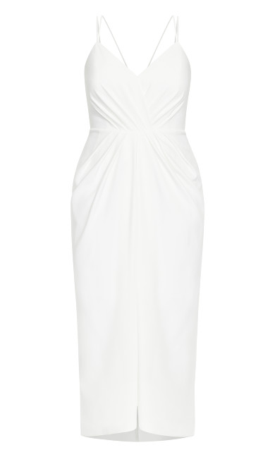 Sassy Luciana Maxi Dress - ivory