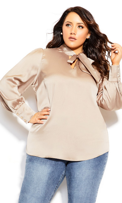 Plus Size Soft Wonder Top - blush