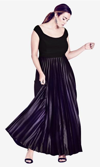 Women's Plus Size Passion Ombre Gown Maxi Dress