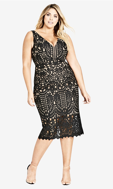 Women's Plus Size All Class Dress