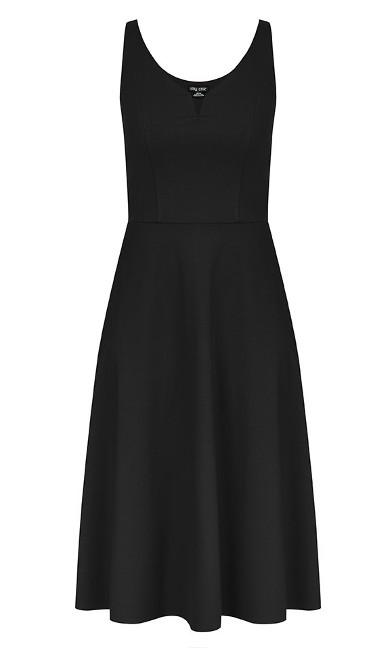 Cute Girl Dress - black