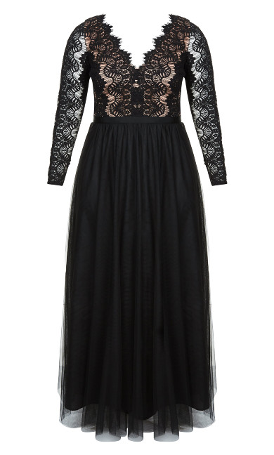 Rare Beauty Maxi Dress - black