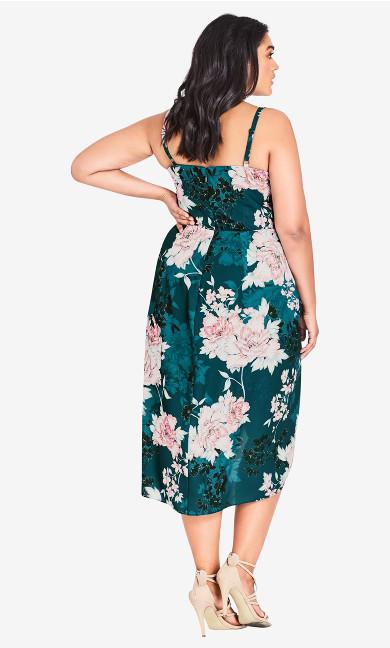 Jade Bloom Dress